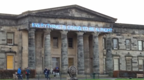 "Scottish National Gallery of Modern Art Two (Dean Gallery): ""Everything is going to be alright"""