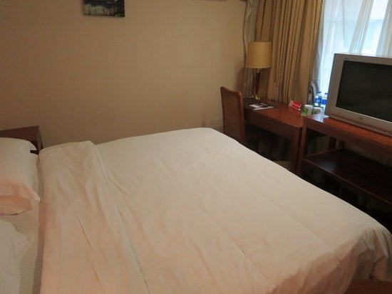 GreenTree Inn Shanghai Jiangpu Business Hotel: ブラウン管テレビ