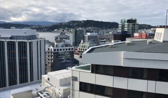 Bolton Hotel Wellington: The views over the capital are another bonus of checking into the 18th floor