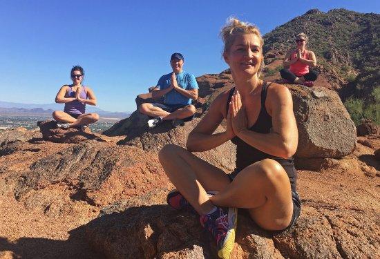 Τέμπε, Αριζόνα: Family Birthday Camelback Mountain Arizona Hiking Yoga