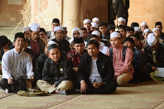 Mosquée Ibn Tulun : Pilgrims or Muslim tourists