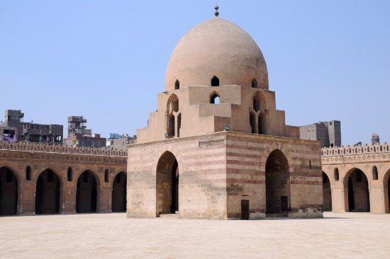 Mosquée Ibn Tulun : In the courtyard of ibn Tulun