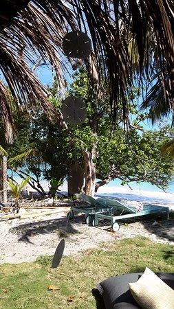 Grand Bourg, Guadeloupe: Les pieds dans l'eau