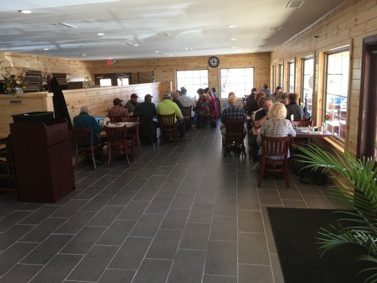 Sperryville, VA: Dining Area Inside the Cafe!!