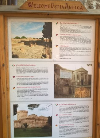 Ostia Antica, Italy: welcome!