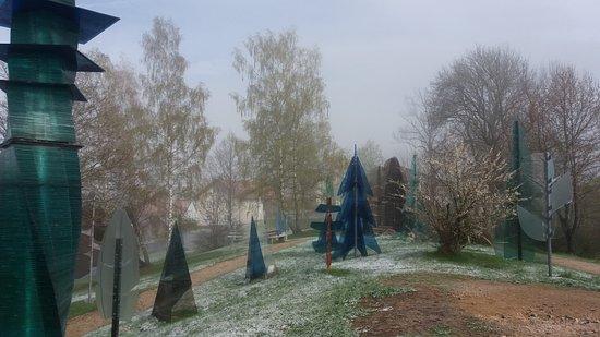 Viechtach, Germany: Es begann zu schneien, immer noch schön