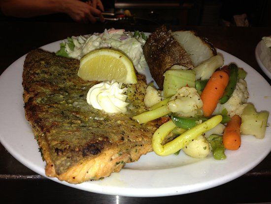 Walkerton, Канада: Baked Trout