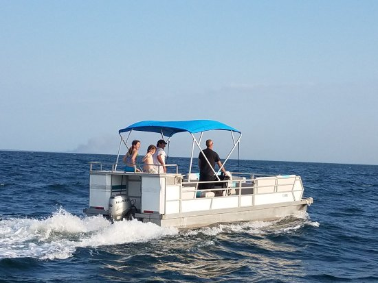 Port Saint Joe, FL: Cape San Blas Pontoon Boat Rental