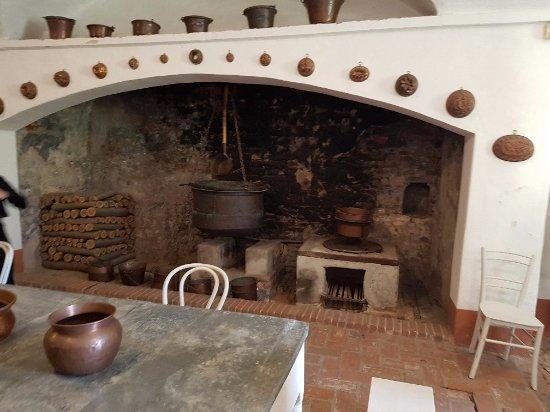 il camino della cucina - Picture of Castello della Manta, Manta ...