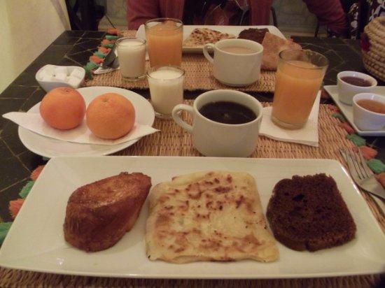 L'Heure d'Ete: El desayuno