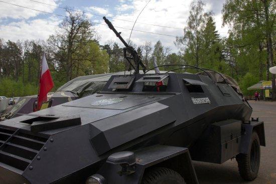 Gierloz, Poland: Техника на входе-выходе