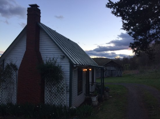 Mayhurst Inn: Schoolhouse at sunset