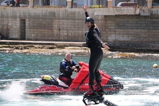 Flyboard Malta: Everyone loves it!