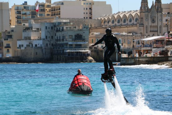 Flyboard Malta: Simply a fun thing to try!