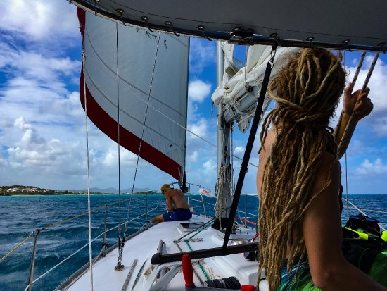 Bilinda Charters: downwind back to Christiansted