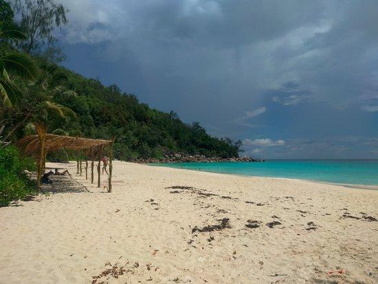 Anse Georgette: Vue de la plage (première partie)