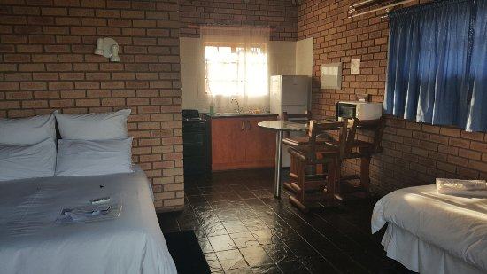 Kimberley, Zuid-Afrika: Self catering equipped chalet