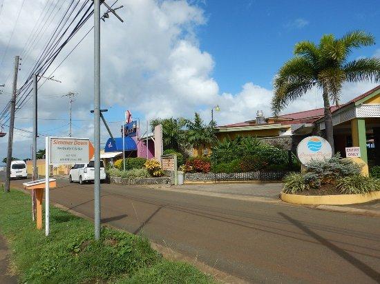 Crown Point Beach Hotel: Royalton Casino and supermarket just next door
