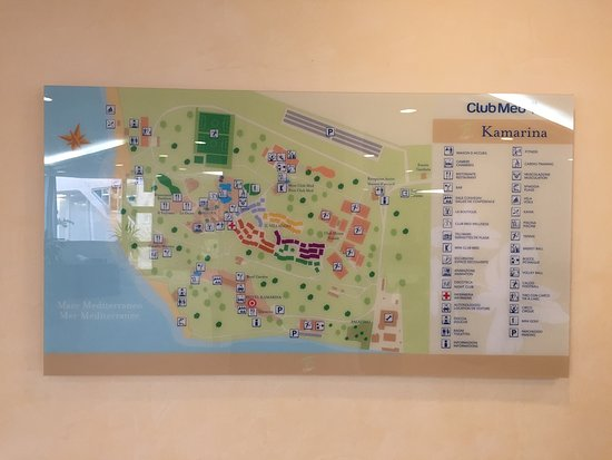 Kamarina Italie Carte.Map Of Kamarina Hotel And Village Photo De Club Med