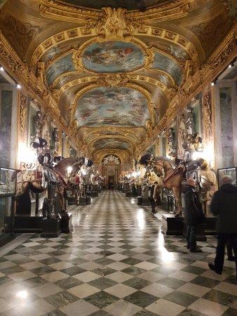 Armeria Reale: Sala reale