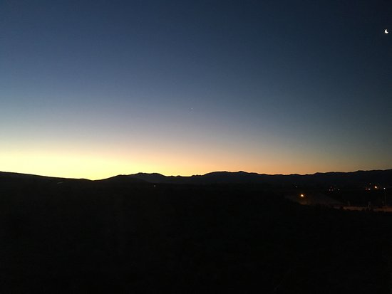 Carson City, NV: Sunrise view from room