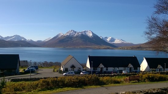 Isle of Raasay, UK: View from Guest Lounge