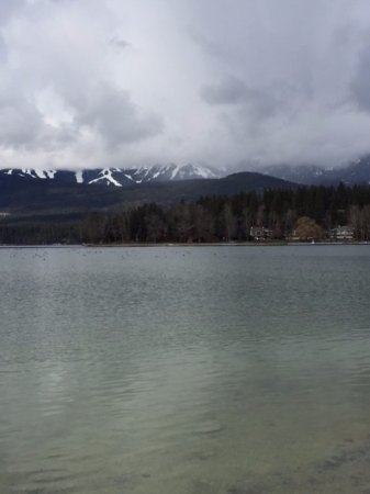 Whitefish, MT: Lake and mountains