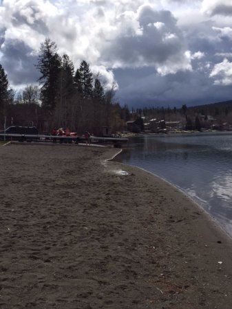Whitefish, MT: The beach