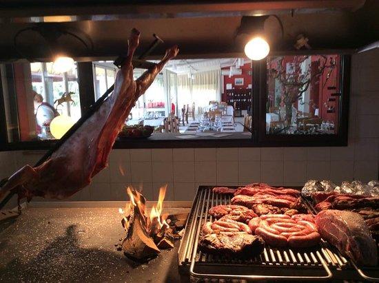 San Biagio di Callalta, Italia: il nostro barbecue in azione