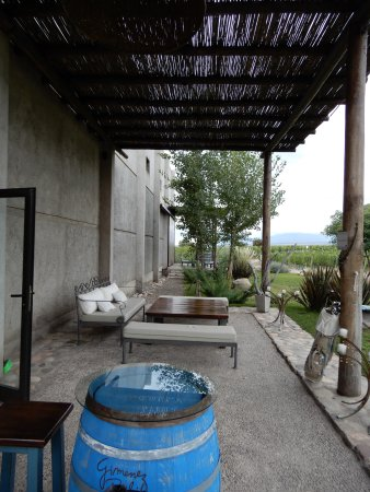 Tunuyan, Argentina: Gimenez Riili utside area