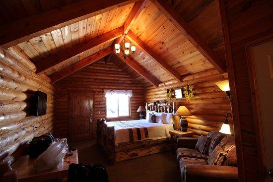 Superbe Bryce Canyon Log Cabins Photo