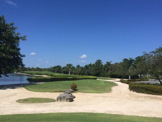 Cocotal Golf & Country Club: Trou no 18, par4 de 470v Cocotal 2017