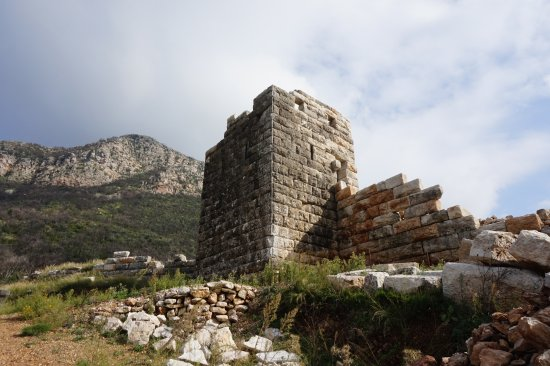 Messini, Greece: part of the fortification