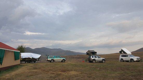 Bokong, Lesotho: camping area