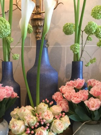 Grand Hotel du Lac: Beautiful florals