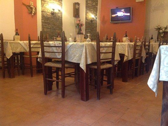 Borgo San Lorenzo, Italië: Sala ristorante