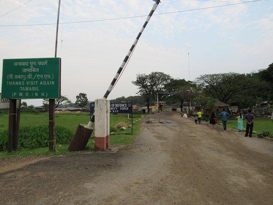 Meghalaya, India: India Bangladesh border