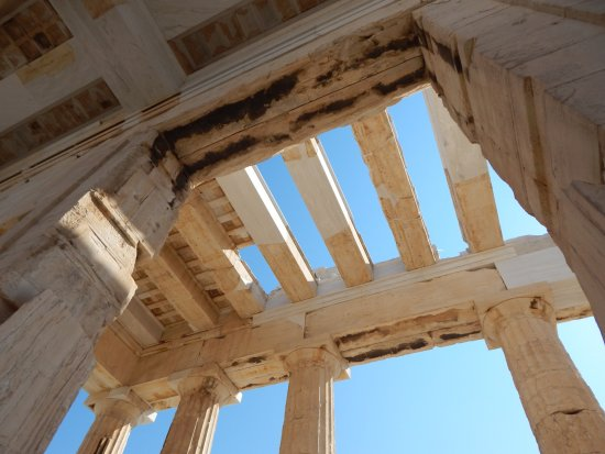 Entrance of Acropolis