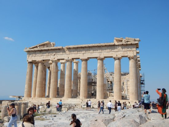 Acropolis: From the flag post