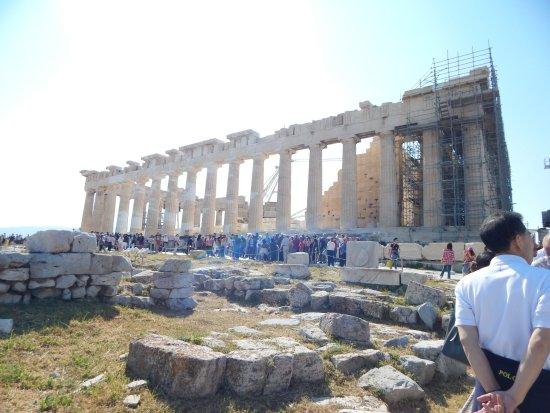 Acropolis: reconstruction in progress