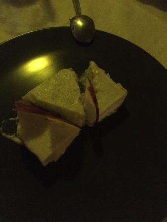 Falmouth, Антигуа: mozzarella in carrozza