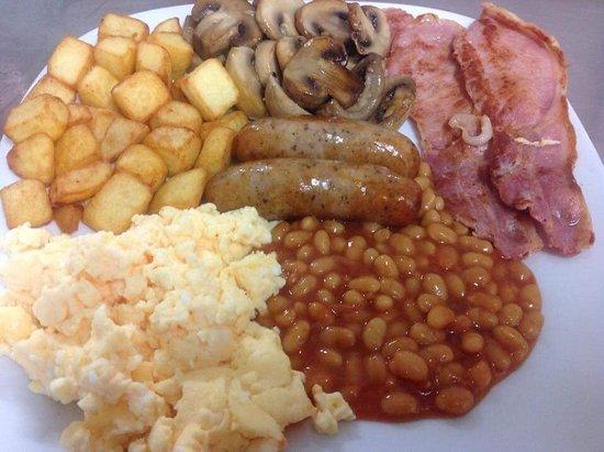 Scunthorpe, UK: Yankee breakfast