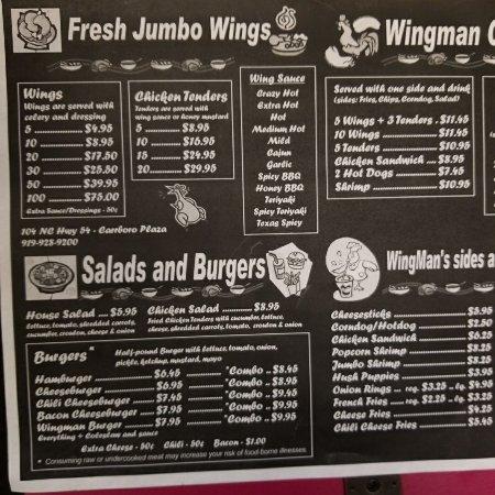 Carrboro, Carolina del Norte: Wingman