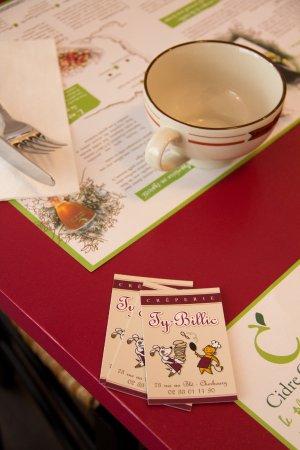 restaurant le ty billic dans cherbourg octeville avec cuisine fran aise. Black Bedroom Furniture Sets. Home Design Ideas
