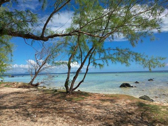 Autre vue de la zone repas picture of ilot gabriel beach for Ilot repas