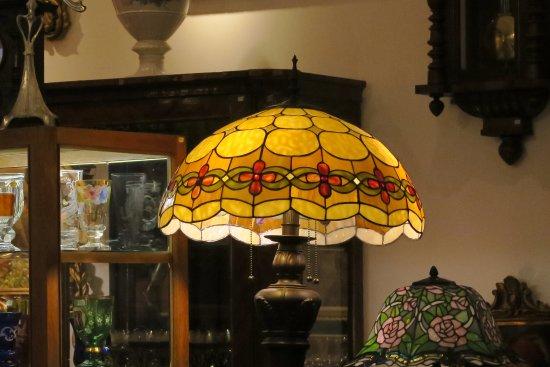 Tiffany lampen u van der ree licht