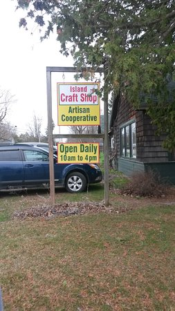 Look for our sign at our new location at 6 South Street, South Hero, Vermont