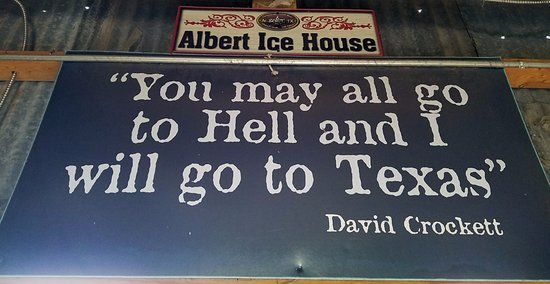 Stonewall, TX: Great Sign