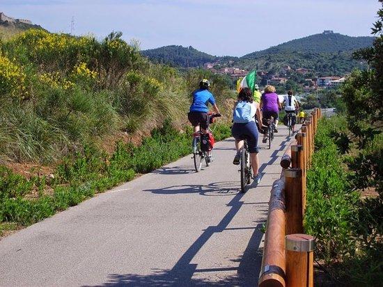 Orbetello, Ιταλία: La ciclabile a Poggio Pertuso
