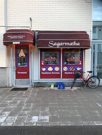 Vantaa, Finland: Ravintolan julkisivu